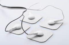 Electrodes and electrical stimulation device Stock Photo