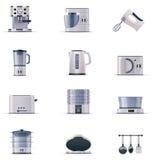 Electrodomésticos del vector fijados. Parte 2 Fotografía de archivo libre de regalías