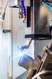 Electroerosive сверля машина Стоковая Фотография RF