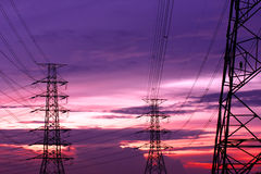 Electroic Pali fotografie stock libere da diritti
