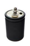 electrolytic kondensator royaltyfri fotografi