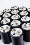 electrolytic kondensator arkivfoton