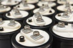electrolytic kondensator fotografering för bildbyråer