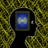 Electromagnetic Pollution Royalty Free Stock Images