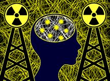Electrosmog affects the brain