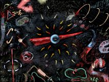 Electromagnetismo Imagen de archivo libre de regalías