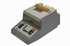 Electromechanical calculator Stock Image