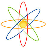 Electron stock illustration