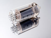 Electron tube. Royalty Free Stock Photo