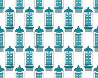 Electron tube pattern Stock Photos