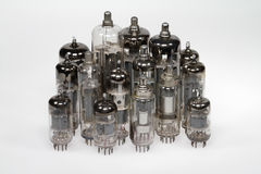Electron tubes Royalty Free Stock Photography