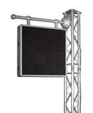 Electronic advertising panel Royalty Free Stock Photo