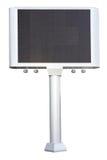 Electronic advertising panel Stock Image