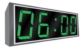 Electronic alarm clock. Stock Photography
