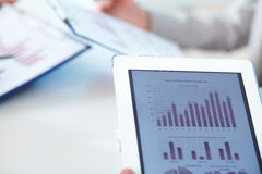 Electronic analysis Stock Images