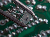 Electronic assembly Royalty Free Stock Photos