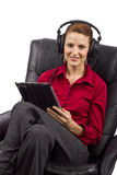 Electronic Audio Books Royalty Free Stock Photos
