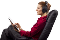 Electronic Audio Books Stock Photos