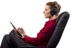 Electronic Audio Books Stock Photos