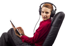 Electronic Audio Books Stock Image