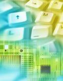 Electronic background Royalty Free Stock Photos