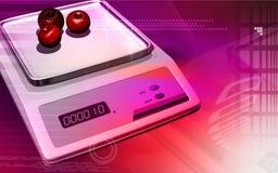 Electronic balance Stock Photo