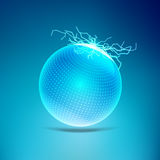Electronic Ball vector illustration