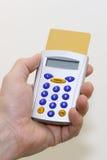 Electronic banking token Stock Image