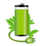 Electronic battery Stock Photo