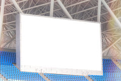 Electronic billboard display at stadium. for your text Stock Image