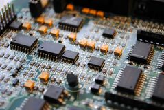 Electronic board_1 Royalty Free Stock Photography