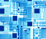 Electronic board Royalty Free Stock Images