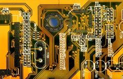 Electronic board. Photograph of an electronic board Stock Photos