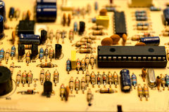 Electronic board. Royalty Free Stock Photography