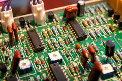 Electronic board. Stock Images