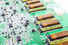 Electronic Board Royalty Free Stock Image