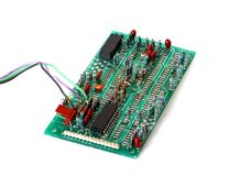 Electronic board Royalty Free Stock Photography