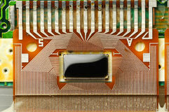 Electronic board for LCD screen Stock Image