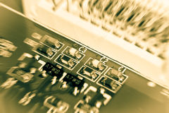 Electronic board Royalty Free Stock Photo