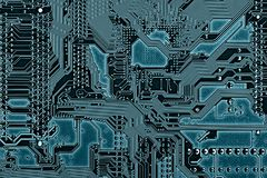 Electronic board texture Royalty Free Stock Photo