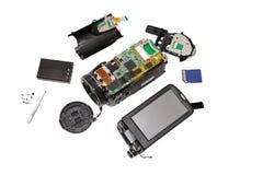 Electronic board video camera. Stock Photo
