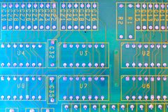 Electronic board wallpaper, Motherboard digital chip. Tech science background. Integrated communication processor stock image