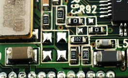 Electronic boards Stock Image