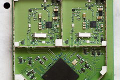 Electronic boards Royalty Free Stock Photos