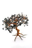 Electronic Bonsai Tree Royalty Free Stock Photo
