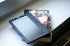Electronic book Stock Image