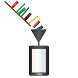 Electronic Book Royalty Free Stock Images