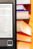 Electronic books. Conceptual image for electronic book Royalty Free Stock Photos