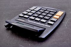 Electronic Business Calculator Stock Photography