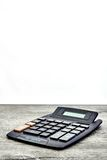 Electronic Business Calculator Stock Photo